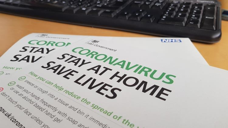Coronavirus Infection Prevention and Control - Government Advice